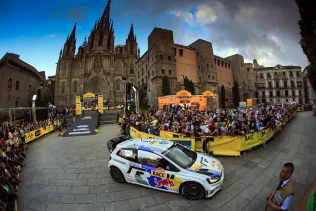 Rallye Katalonien: Latvala führt, Ogier auf Rang vier