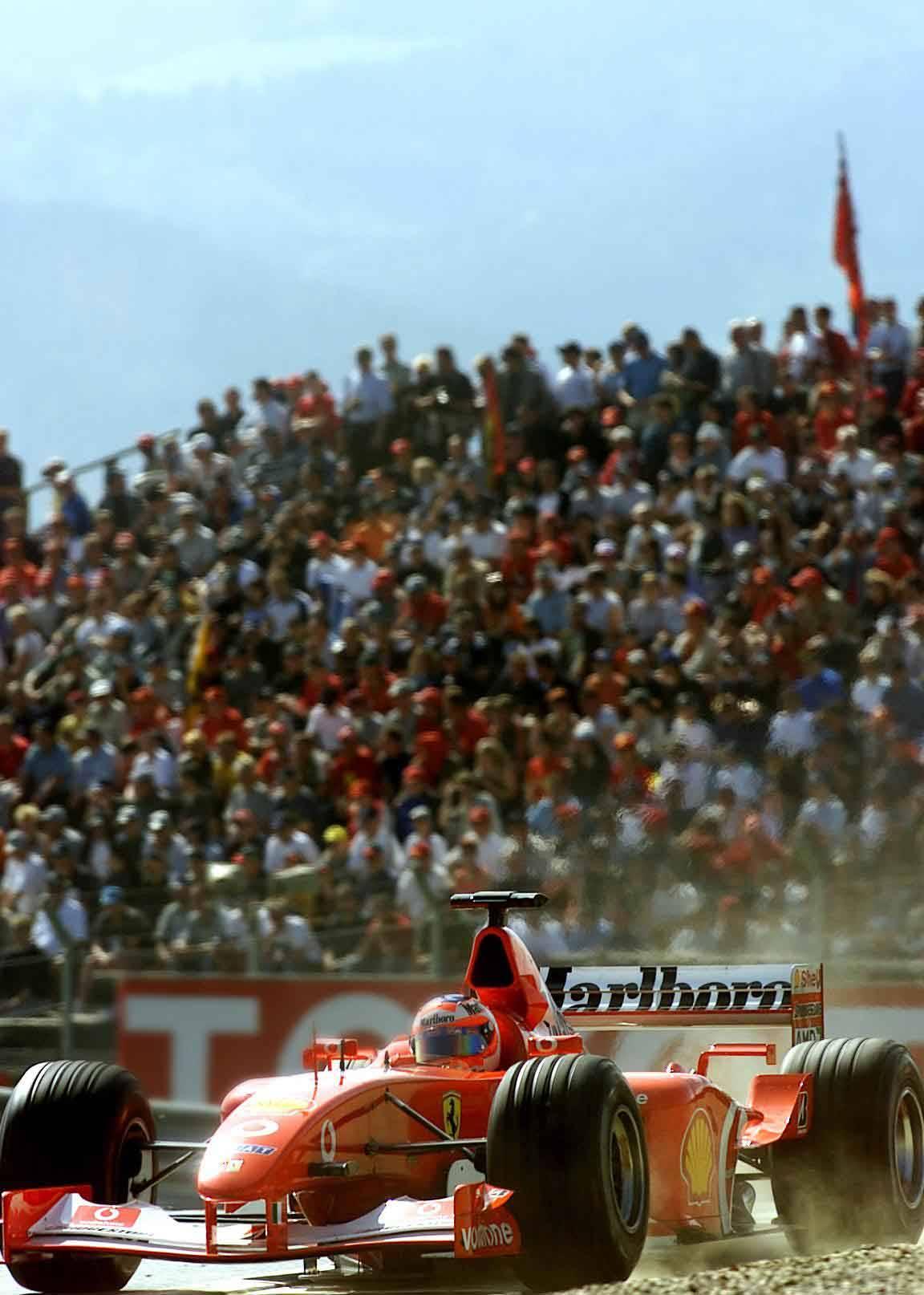 Rubens Barrichello beim Training in Spielberg 2003