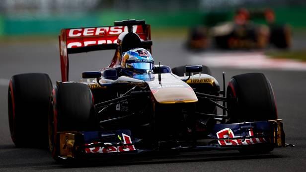 Jean- Eric Vergne im Rennauto beim GP von Süd Korea