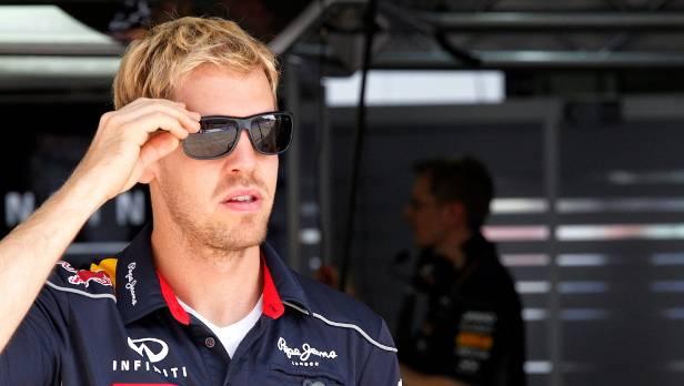 Vettel bleibt vorm Grand Prix von Indien ganz cool.