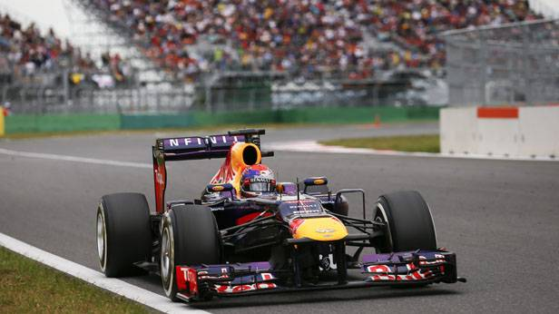 Sebastian Vettel beim GP in Südkorea