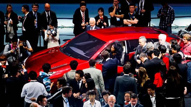Die Volkswagen Group Night 2012 in Peking, China