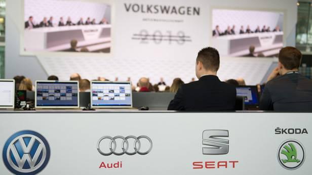 Die jährliche Volkswagen Pressekonferenz, 2013