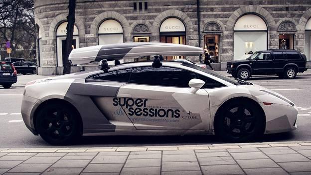 Audi R8 Und Lamborghini Mit Dachbox Autorevue At