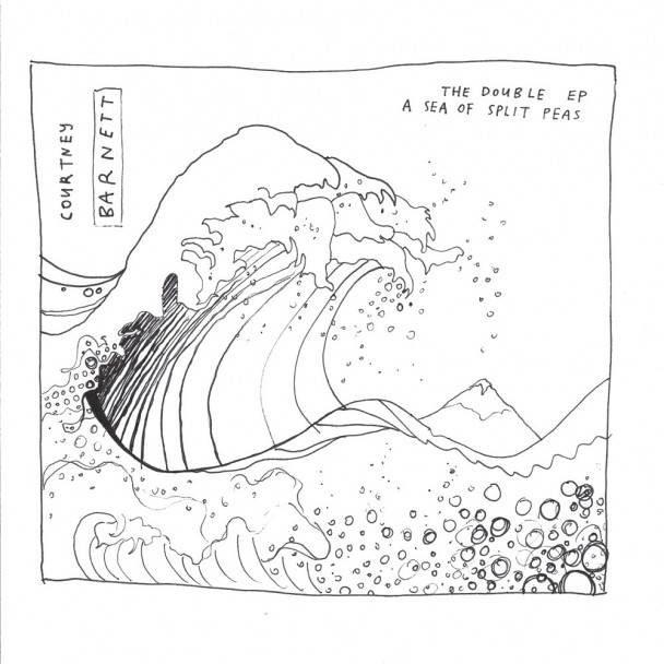 Courntey Barnett - sea of split peas Double EP Melbourne Australien singer Songwriter