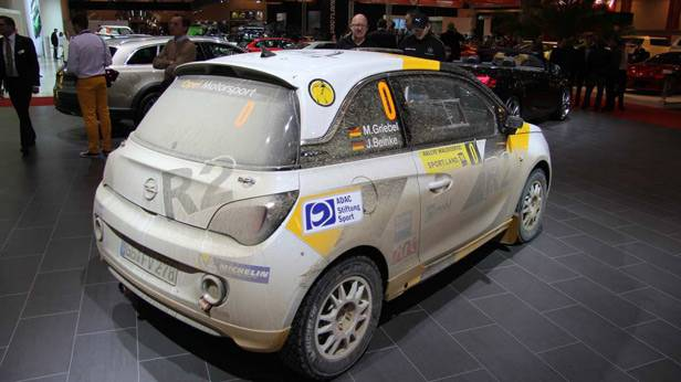 Der Opel Adam Rallye 2