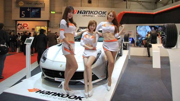 Der Stand von Hankook auf der Essener Motor Show