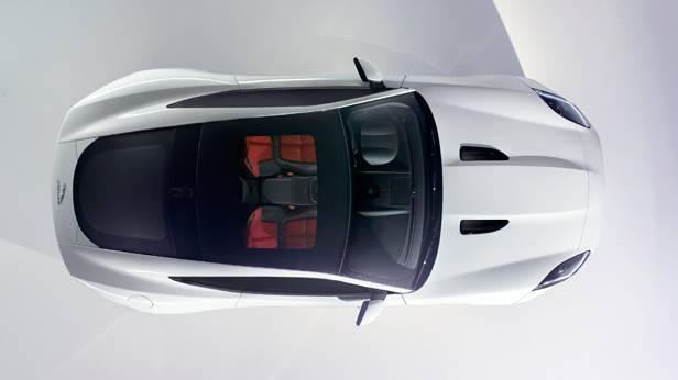Jaguar F-Type Coupé oben
