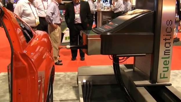 Automatisches tanken Fulematics Roboter Zapfsäule