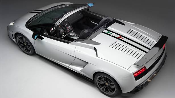 Der Lamborghini Gallardo LP 570 4 Spyder Performante