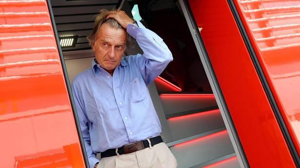 Luca di Montezemolo fährt sich durch die Haare