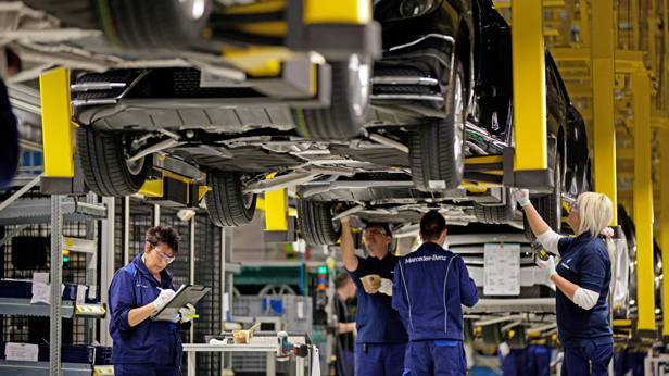 Mercedes-Benz Produktionsstätte Kecskemét Ungarn