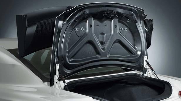 Der Kofferraum des Nissan GT-R Nismo