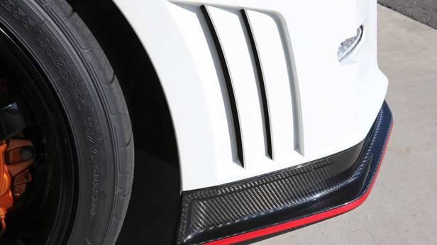 Luftschlitze des Nissan GT-R Nismo
