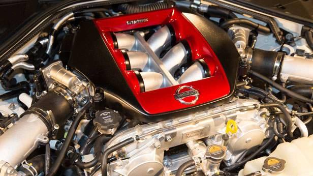Der Motor des Nissan GT-R Nismo