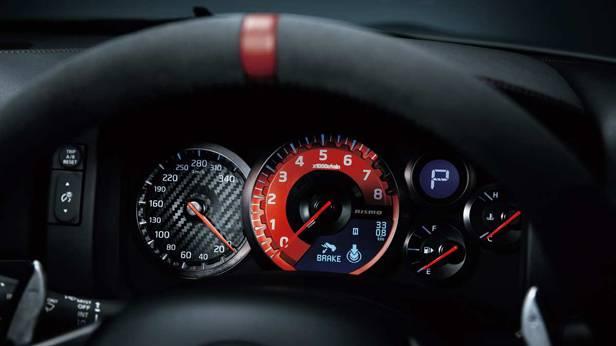 Das Cockpit des Nissan GT-R Nismo