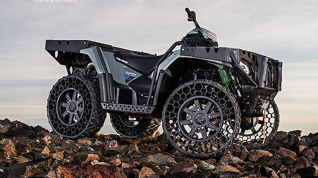 Polaris Sportsman WV850 ATV Quad offroad Dick Cheney