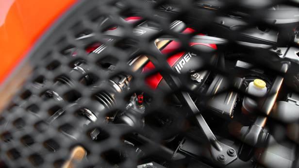 Motorraum des SRT Viper TA