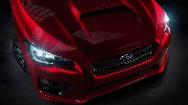 Der Subaru WRX außen