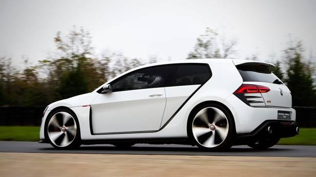 Der VW Design Vision GTI seitlich