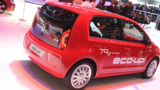 Der VW Eco Up! beim Auto Salon Genf