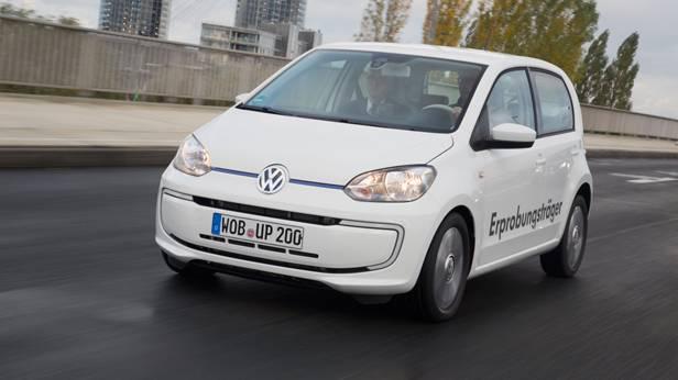 VW Twin Up! dynamisch vorne