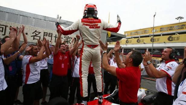 Alex Lynn gewann in Macao, Antonio Felix da Costa und Luis Felipe Derani komplettierten das Podest.