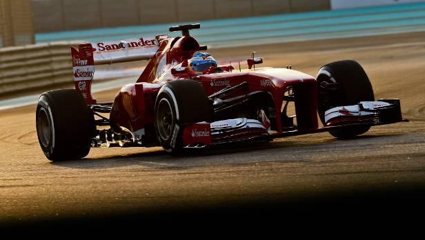 In Abu Dhabi verletzte sich Alonso am Rücken, zwei Wochen später fühlt er sich für das vorletzte Formel 1-Saisonrennen.