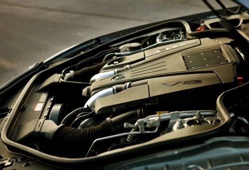 mercedes-benz sl 500 2012 silber motor motorraum