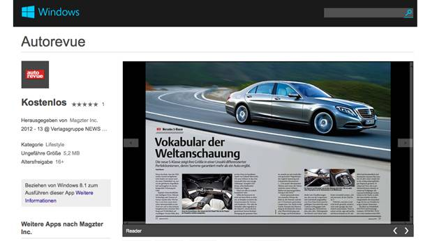 autorevue epaper app windows