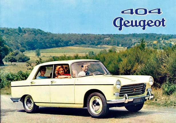 peugeot 404 limousine vorne