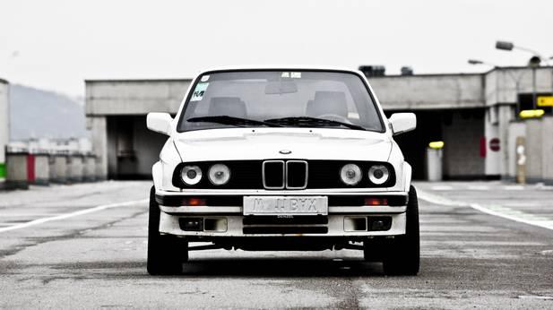 bmw 325ix e30 1987 weiß front