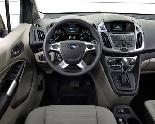 ford tourneo connect hinten 2014 ecoboost cockpit armaturen innenraum