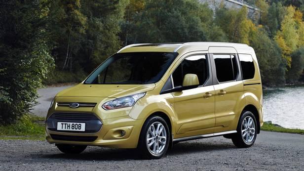 ford tourneo gelb connect hinten 2014 ecoboost front vorne seite