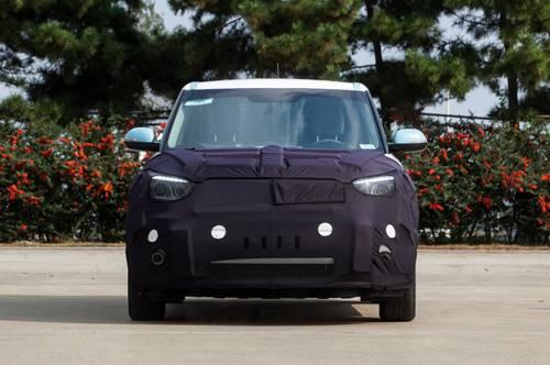 Kia Soul EV vorne front e-auto elektro