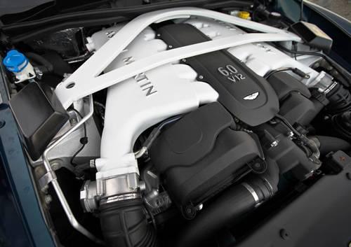 aston martin vanquish volante v12 2014 motor motorraum