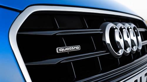 audi a3 cabrio 2014 blau emblem kühlergrill