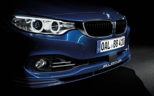 Alpina B4 Coupé blau Front