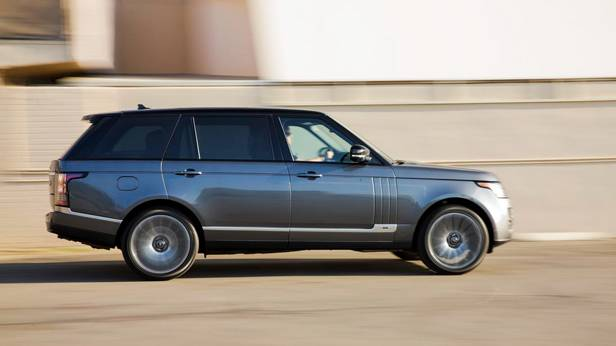 range rover lwb v8 supercharged 2014 seitlich