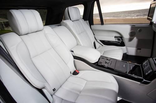 range rover lwb v8 supercharged sitze hinten