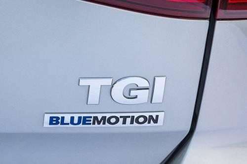 vw golf tgi erdgas emblem