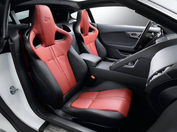 jaguar f-type coupé 2014 sitze innen