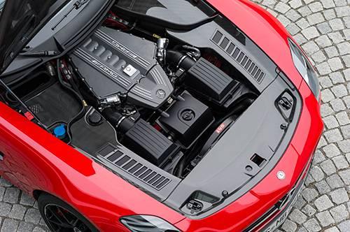 Mercedes-Benz SLS AMG GT Final Edition rot motor