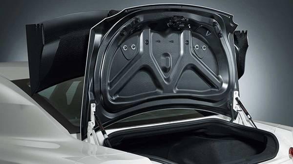 Nissan GT-R Nismo 2015 heckklappe carbon