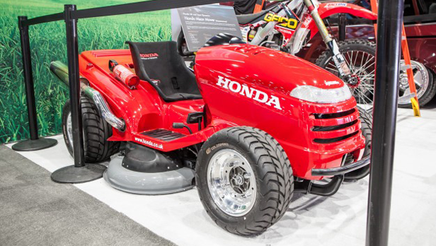 sema 2013 Honda Mean Mower