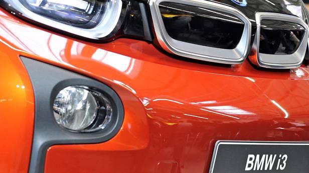 Die Front des BMW i3