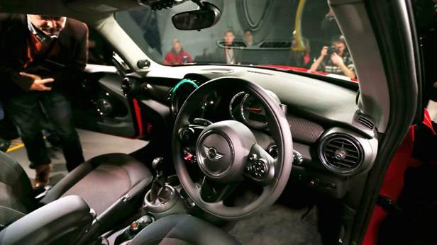 Der neue BMW Mini wird in Oxford (England) präsentiert