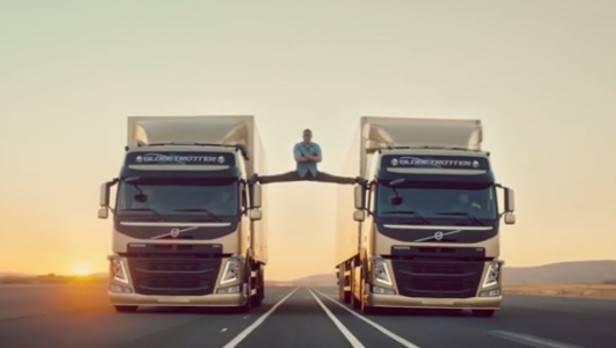 "Volvo-Video: Van Dammes ""Epic Split"" ist echt"