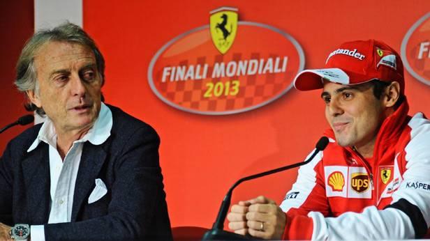 Luca di Montezemolo und Felipe Massa