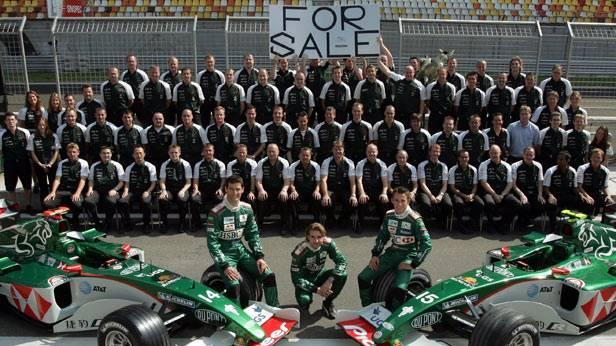 Gruppenfoto vom Team-Jaguar 2004
